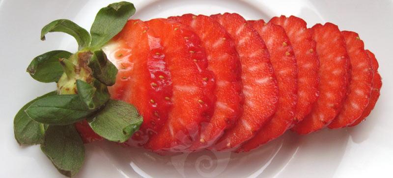 Februar-Erdbeere